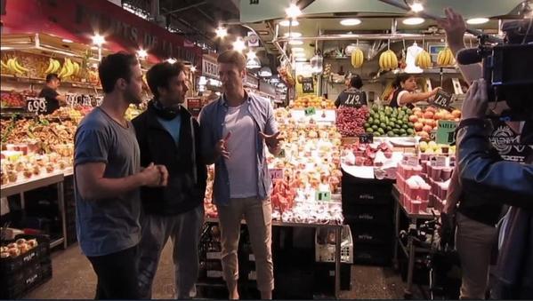 Masterchef winner Andy Allen and finalist Ben Milbourne visited Cook&Taste
